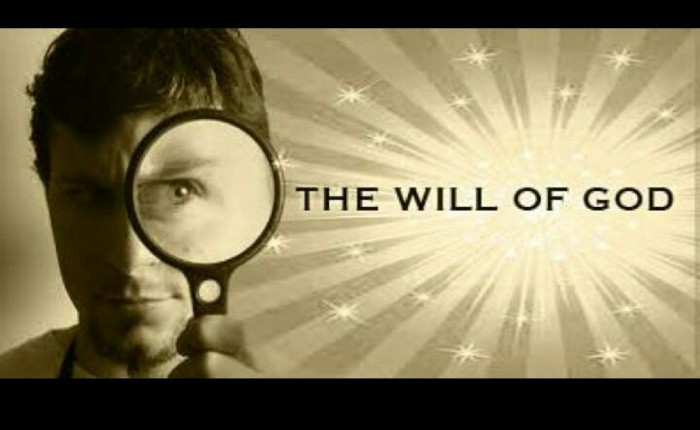 The Will Of God 01 – Intro
